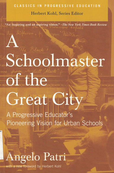 Copertina di A schoolmaster of the great city