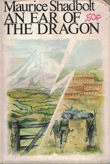 Copertina di An ear of the dragon