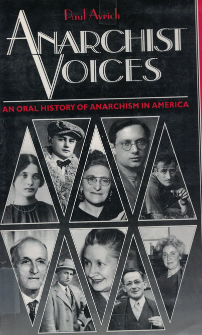 Copertina di Anarchist voices