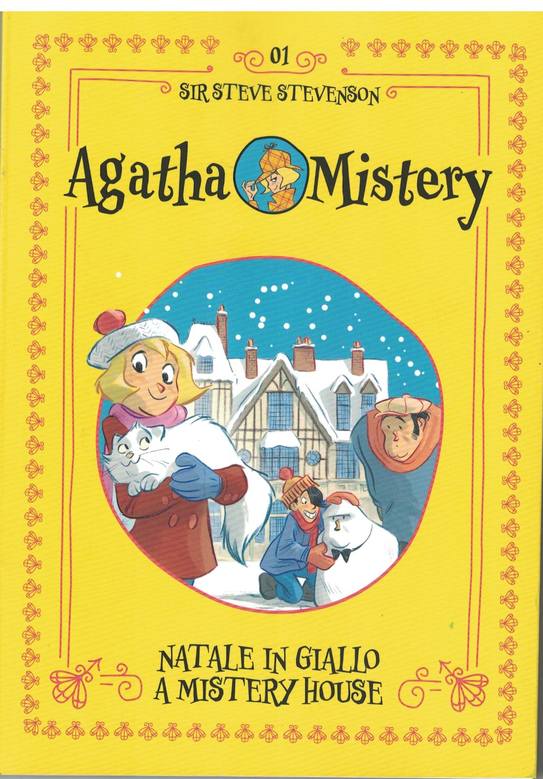 Copertina di Agatha Mistery- Natale in giallo a mistery house